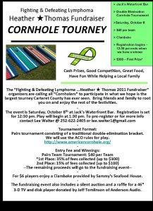 Heather Thomas Fundraiser Cornhole Tournament